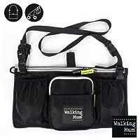 Walking Mum Urban Baby - Black organiser handbag