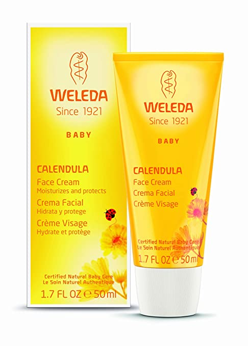 Weleda Baby Calendula Face Cream, 1.7-Ounce