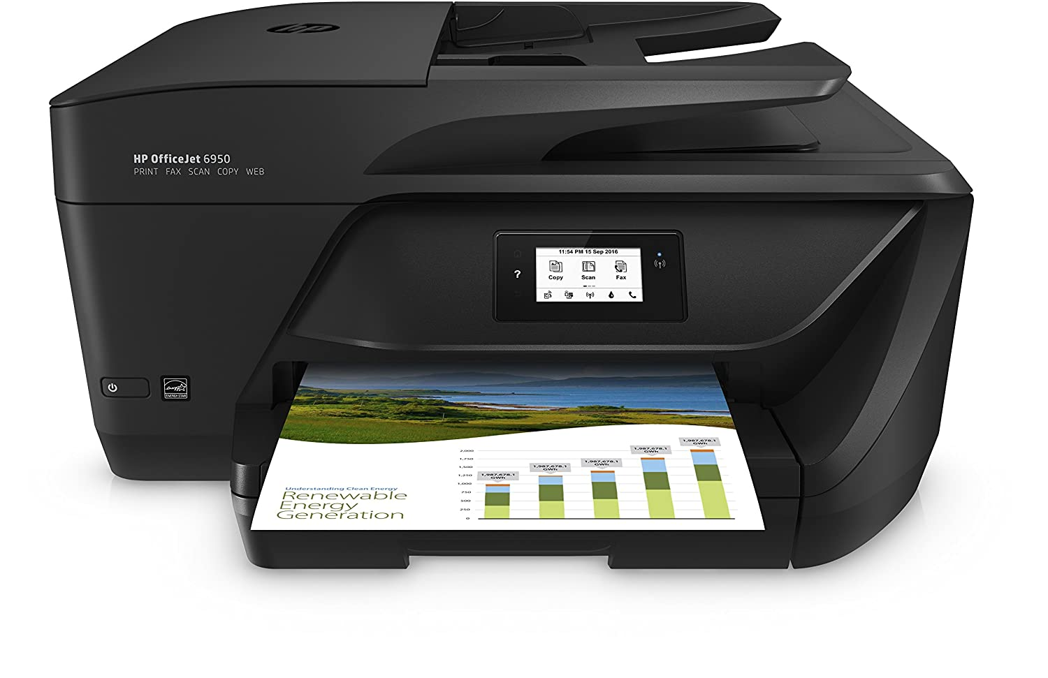 HP p C a  BAW Officejet  All in One impresora
