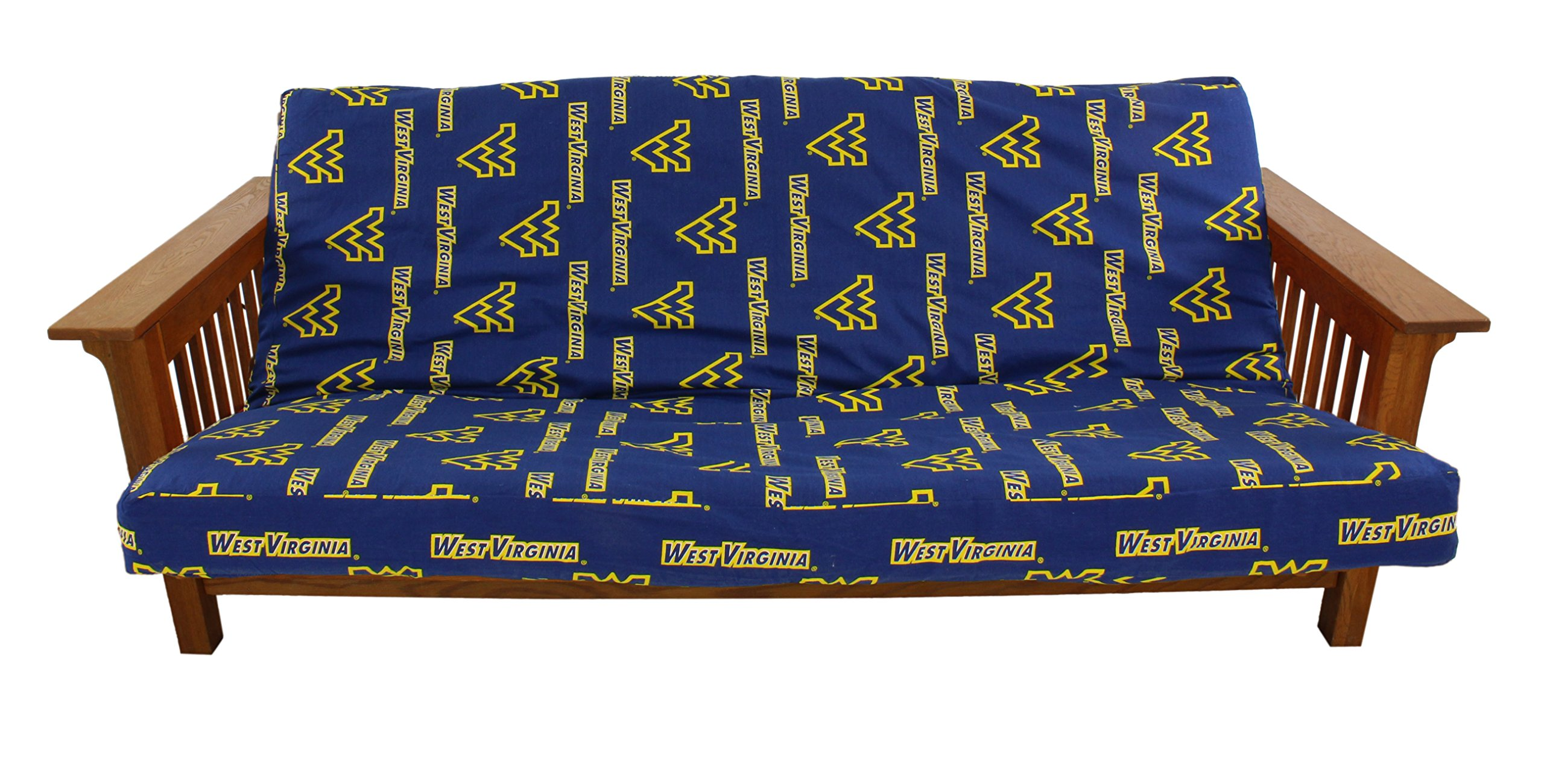 College Covers West Virginia Mountaineers Futon Lounge Cover, Full