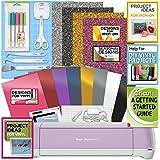 Cricut Explore Air 2 Bundle Iron On, Vinyl Pack, Tools, Pen, Design Guide - Lilac