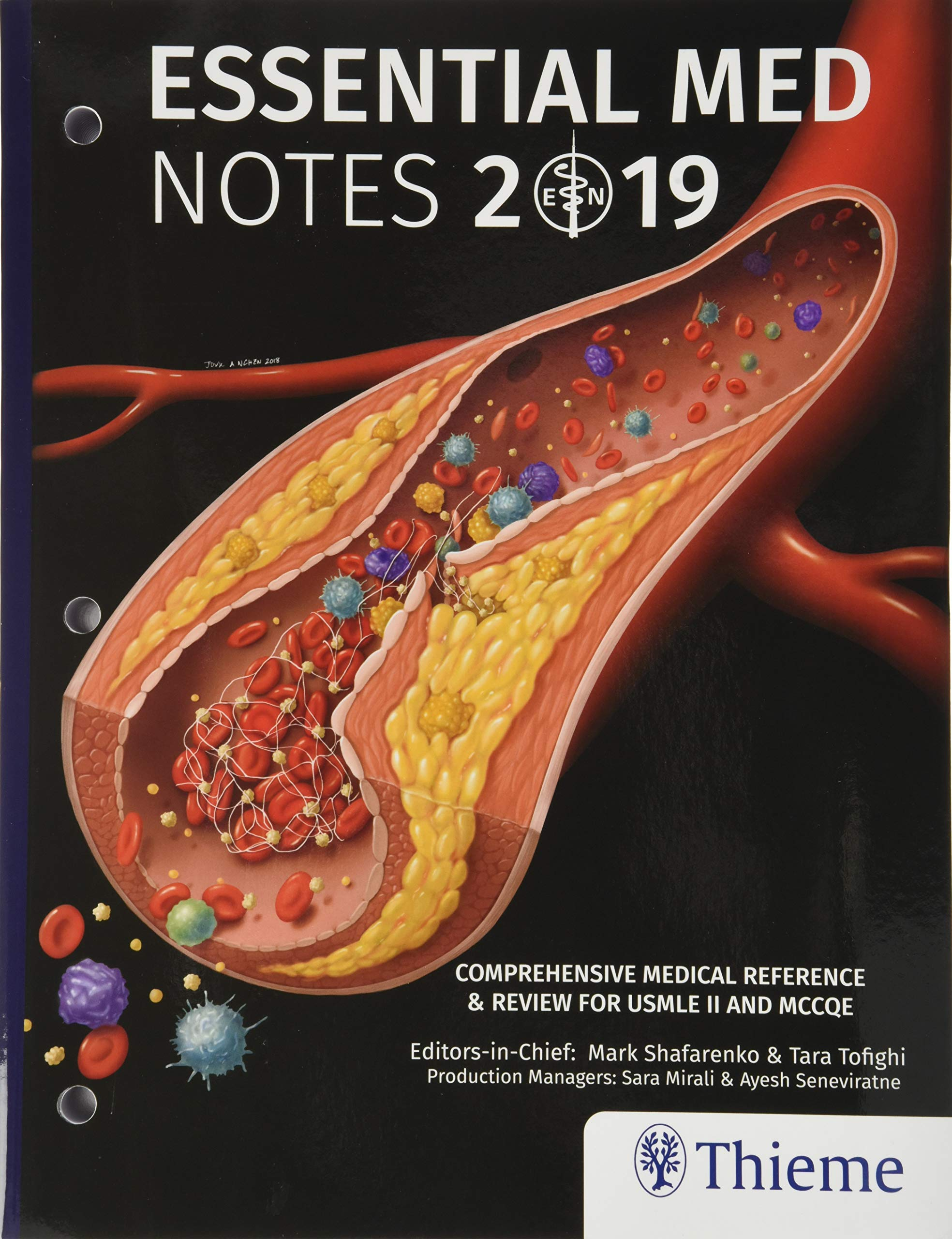 Buy Essential Med Notes 2019: Comprehensive Medical