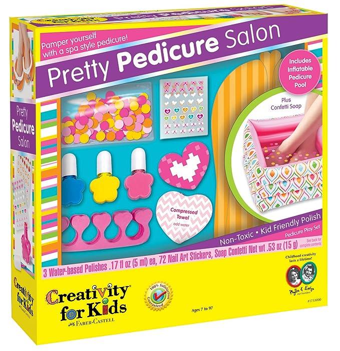 Amazon.com: Creativity for Kids Pretty Pedicure Salon - Pedicure ...