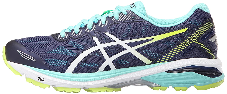 ASICS Women's Gt-1000 5 Running Shoe B017USN8N0 12 B(M) US|Indigo Blue/White/Safety Yellow