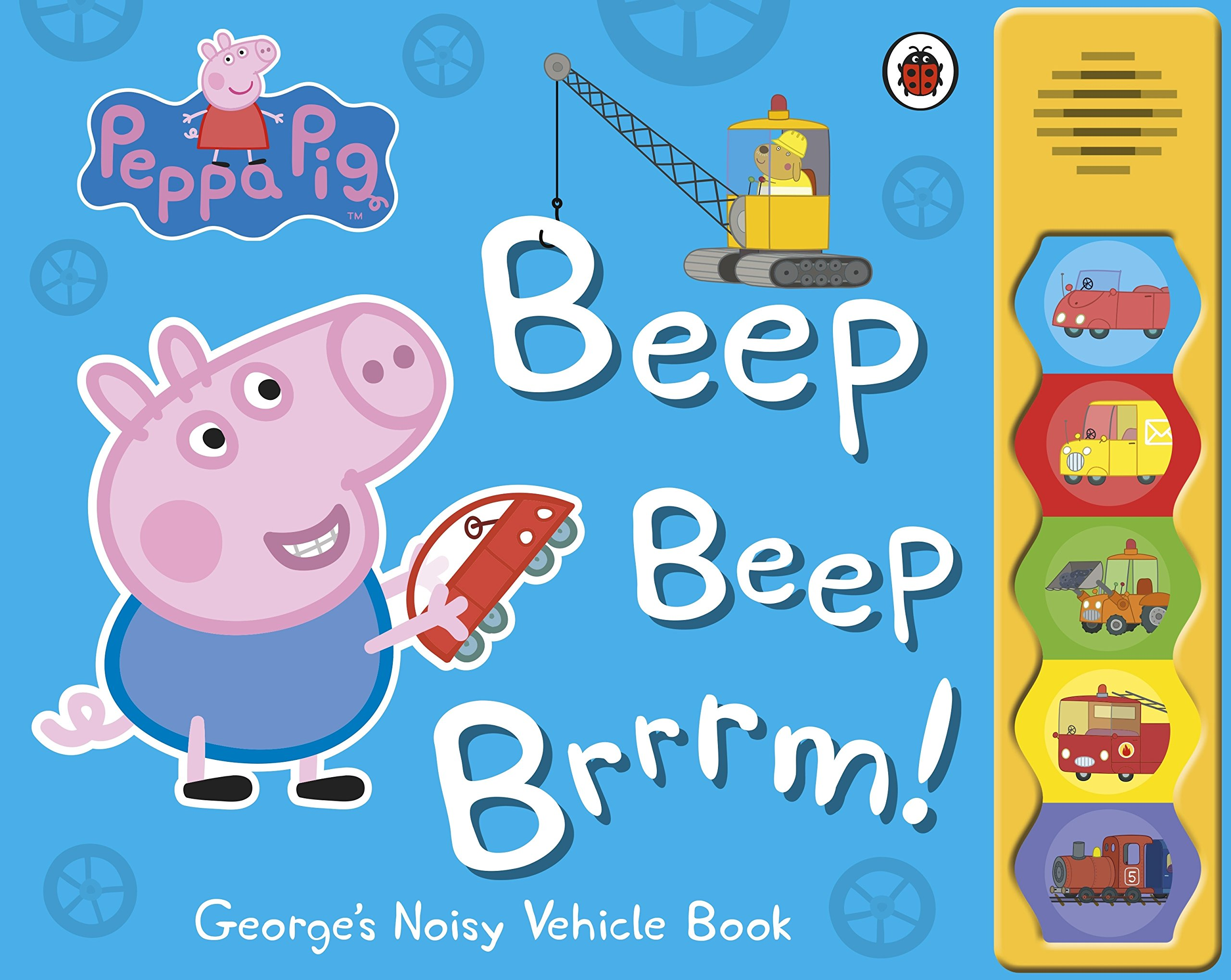 Details about Peppa Pig: Beep beep brrrm! Children's Sound Effects Story  Book, Ladybird