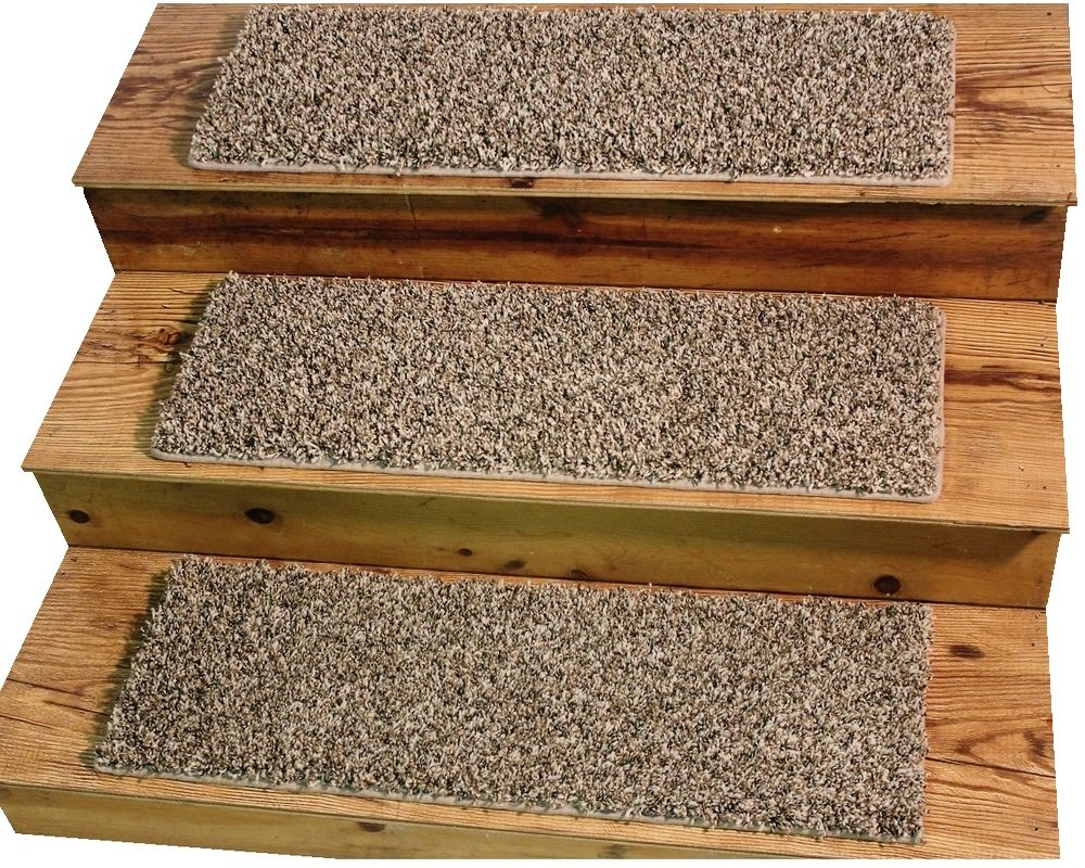 TIGER EYE 9''x27'' Dog Assist Carpet Stair Treads - Sets of 3 - 16 Treads Available (11 Stair Tread Set)