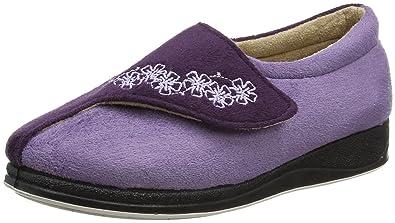 Padders zapatillas para mujer morado lavanda, Morado (lavanda), 37