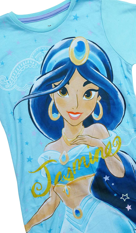 Girls Disney Princess Jasmine Nighty Nightdress Sizes from 2 to 8 Years