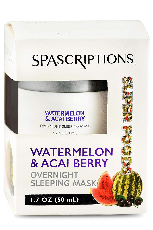 Superfoods- Watermelon & Acai Berry Overnight Sleeping Mask - 1.7oz