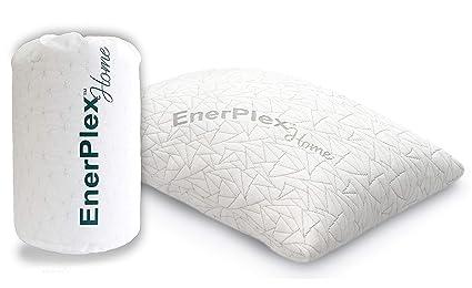 amazon com enerplex premium adjustable shredded memory foam pillow