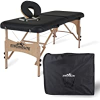 STRONGLITE Portable Massage Table Package Shasta - All-In-One Treatment Table w/ Adjustable Face Cradle