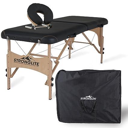 Amazon.com: Camilla de masaje portátil Shasta ...