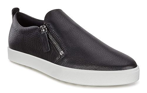 authentische Qualität Modern und elegant in der Mode letzte auswahl von 2019 ECCO Women's Gillian Side Zip Sneaker