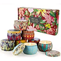 Scented Candle Retro & Tarot Floral (Retro 8 Pack)