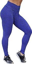 9c5ebf75cf3f7 OXYFIT Leggings 64049 Blue Sexy Workout Leggings, Cute Yoga Leggings