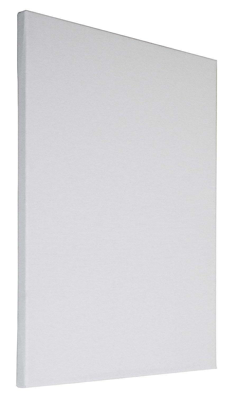 Arte & Arte 7147.0 Telaio con Tela per Pittori da dipingere, Legno di Abete/Cotone, Bianco, 100 x 80 x 1.7 cm Adria Art MUA80100