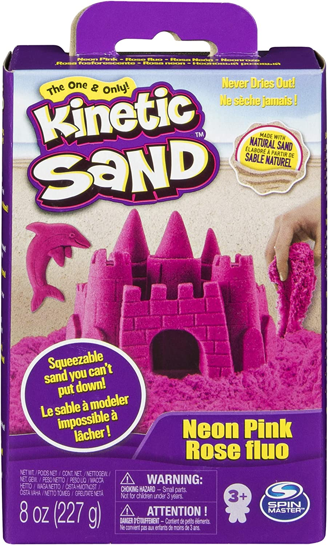 Kinetic Sand Spinmaster Modelling Sand Base Pack, 227 g, 227 gr Assorted Color
