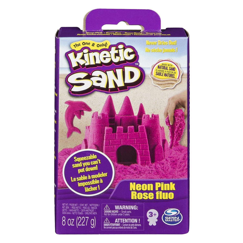 Spinmaster Kinetic Sand Colori Confezione Base, Rosa 20080706