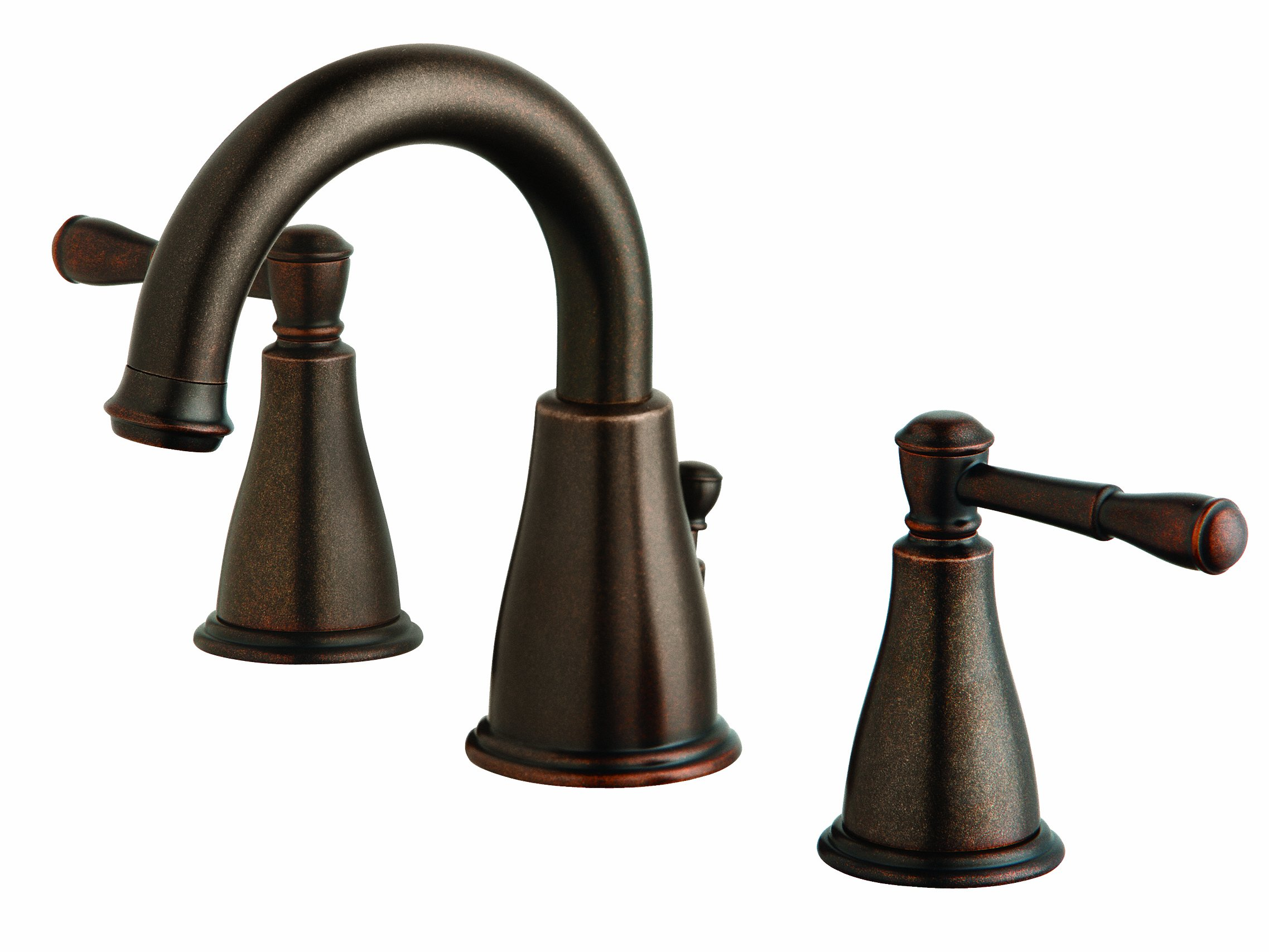 Danze D304015BR Eastham Two Handle Widespread Faucet, Tumbled Bronze