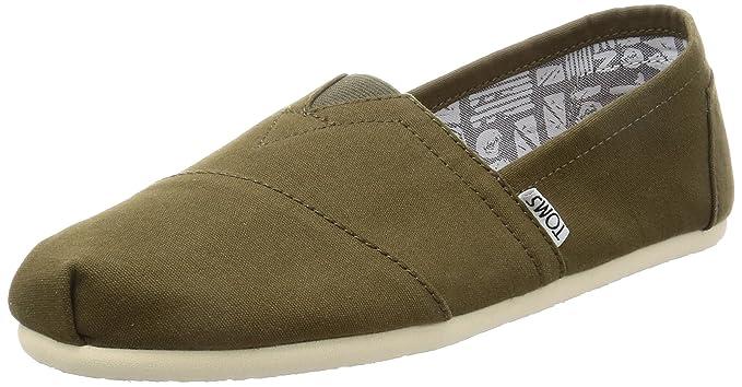 1114650a0b5 Amazon.com  Toms Classic Mens Shoes Green  Shoes