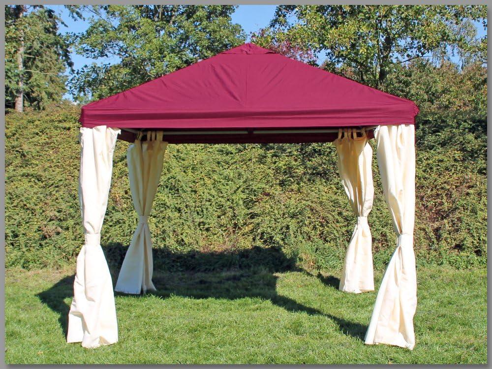 Carpa 3 x 3 m Sahara Burdeos Party 3 x 3 venta tienda impermeable: Amazon.es: Jardín