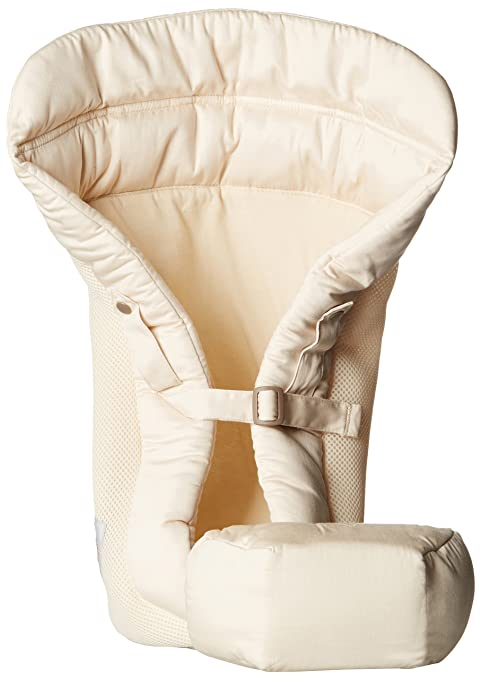 Ergobaby Performance - Cojín Bebé de 3,2 a 5,5 kg, color beige