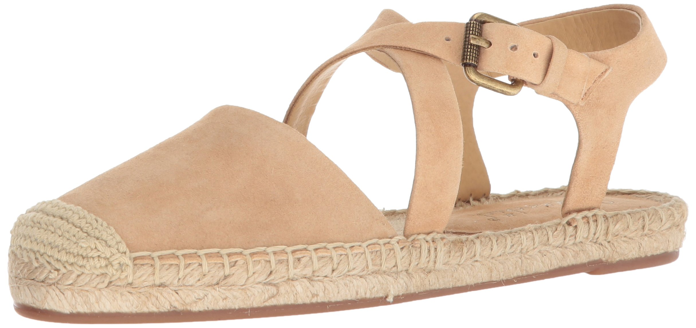 Splendid Women's Foley Flat Sandal, Nude, 10 Medium US