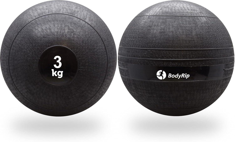 BodyRip - Balón Medicinal (3 kg, no rebota): Amazon.es: Deportes y ...