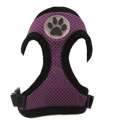 Arnés para perro de raza pequeña, ajustable, nailon, acolchado ...
