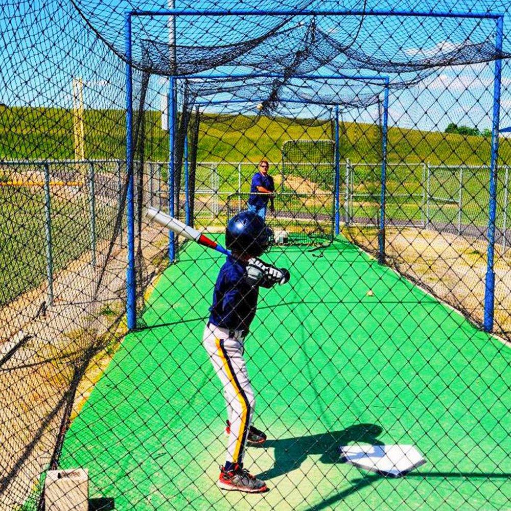 amazon com 12 x 14 x 70 baseball batting cage 42 heavy duty