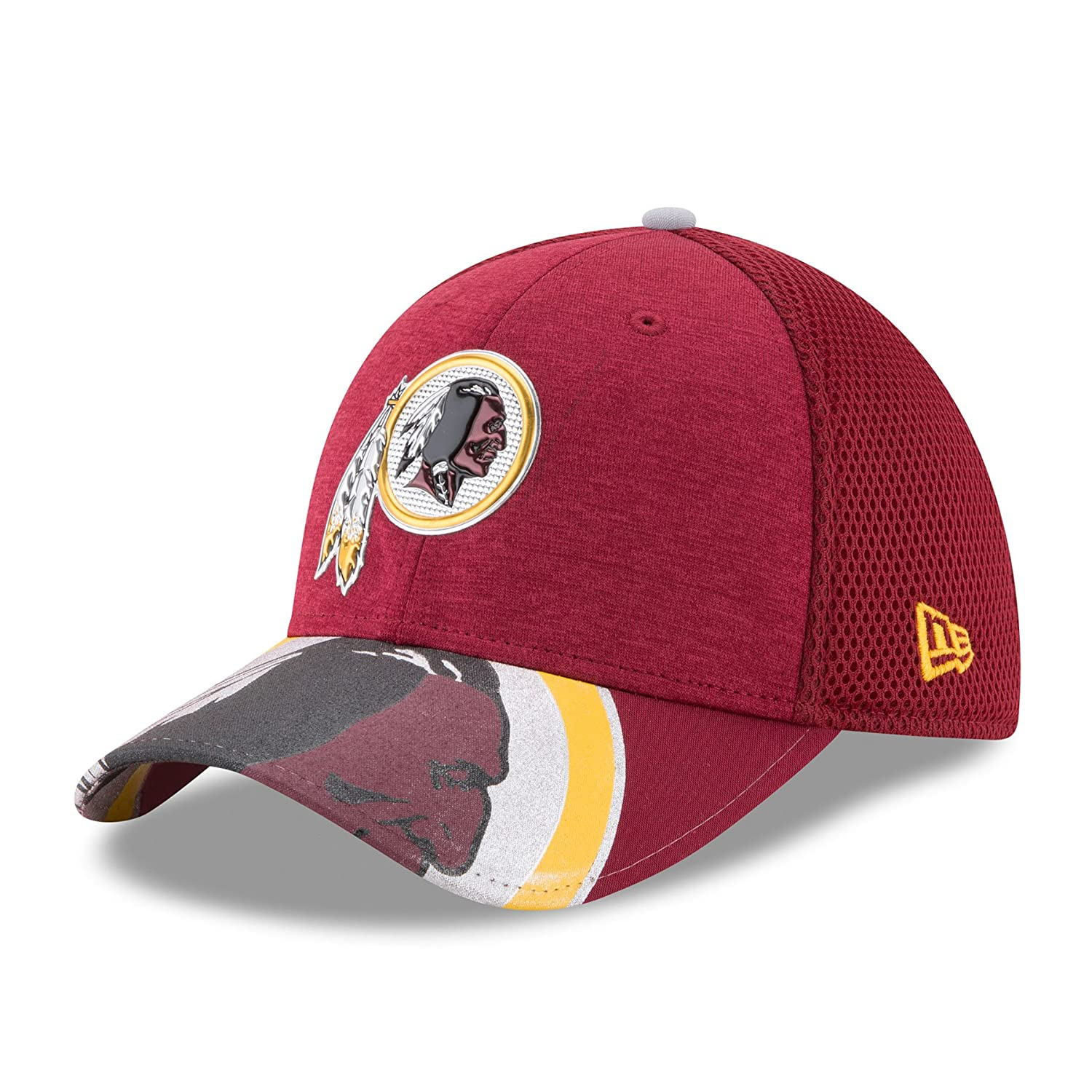 New Era NFL WASHINGTON REDSKINS Authentic 39THIRTY Draft 2017 Stretch Fit Cap