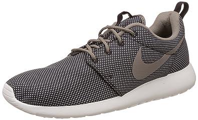 Nike Men's Roshe One Premium Velvet Brown, Iron and Sail Sneakers -8 UK/
