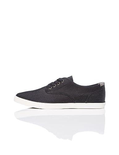 new arrival bb717 916b5 Amazon-Marke: find. Sneaker Herren aus Stoff mit Denim-Look