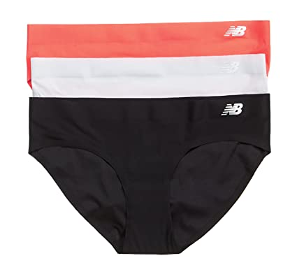 6e21622f2a2d New Balance Womens Breathe Hipster Panty 3-Pack, Dragonfly/Concrete/Black,
