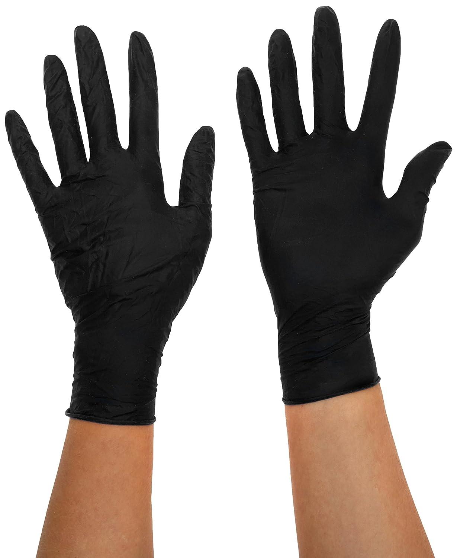 Mister B 20Chirurgenstahl Schwarz Handschuhe, X-Large 8718788023846
