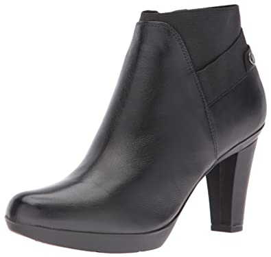 Geox Womens Winspirationstiv17 Ankle Bootie, Black, ...