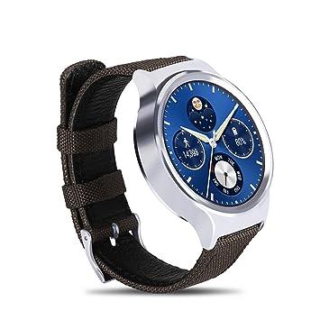 xiemin® 18 mm Tissu en nylon bande de montre en cuir/bracelet sangle pour