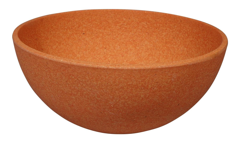 Big Bowl Yellow/ /Zuperzozial Raw Earth Collection /Shell / Alternative to Melamine Crockery
