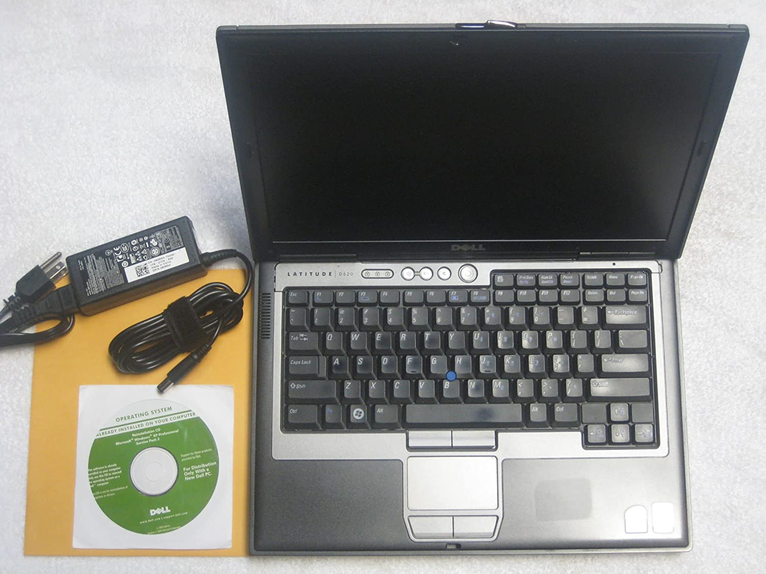 "Dell Latitude D630 14.1"" Laptop (Intel Core 2 Duo 2.0Ghz, 160GB Hard Drive, 2048Mb RAM, DVD/CDRW Drive, XP Profesional)"