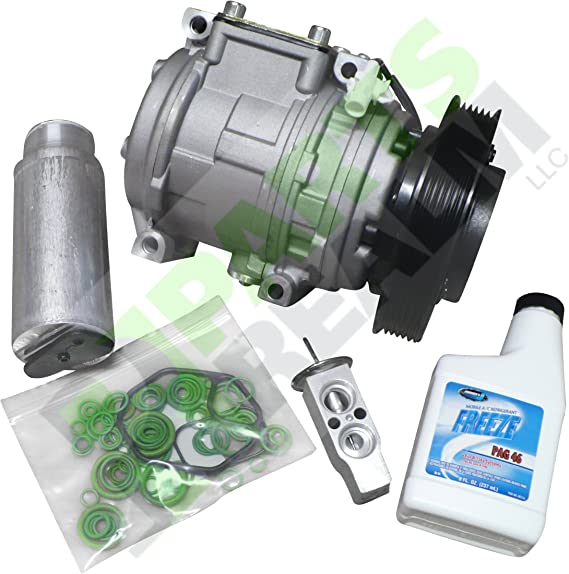 Parts Realm CO-3302AK Complete A//C Compressor Replacement Kit