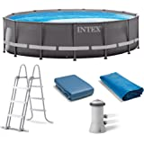 """Intex 14' x 42"""" Above Ground Ultra Frame Pool Set with 1000 GPH Filter Pump"""