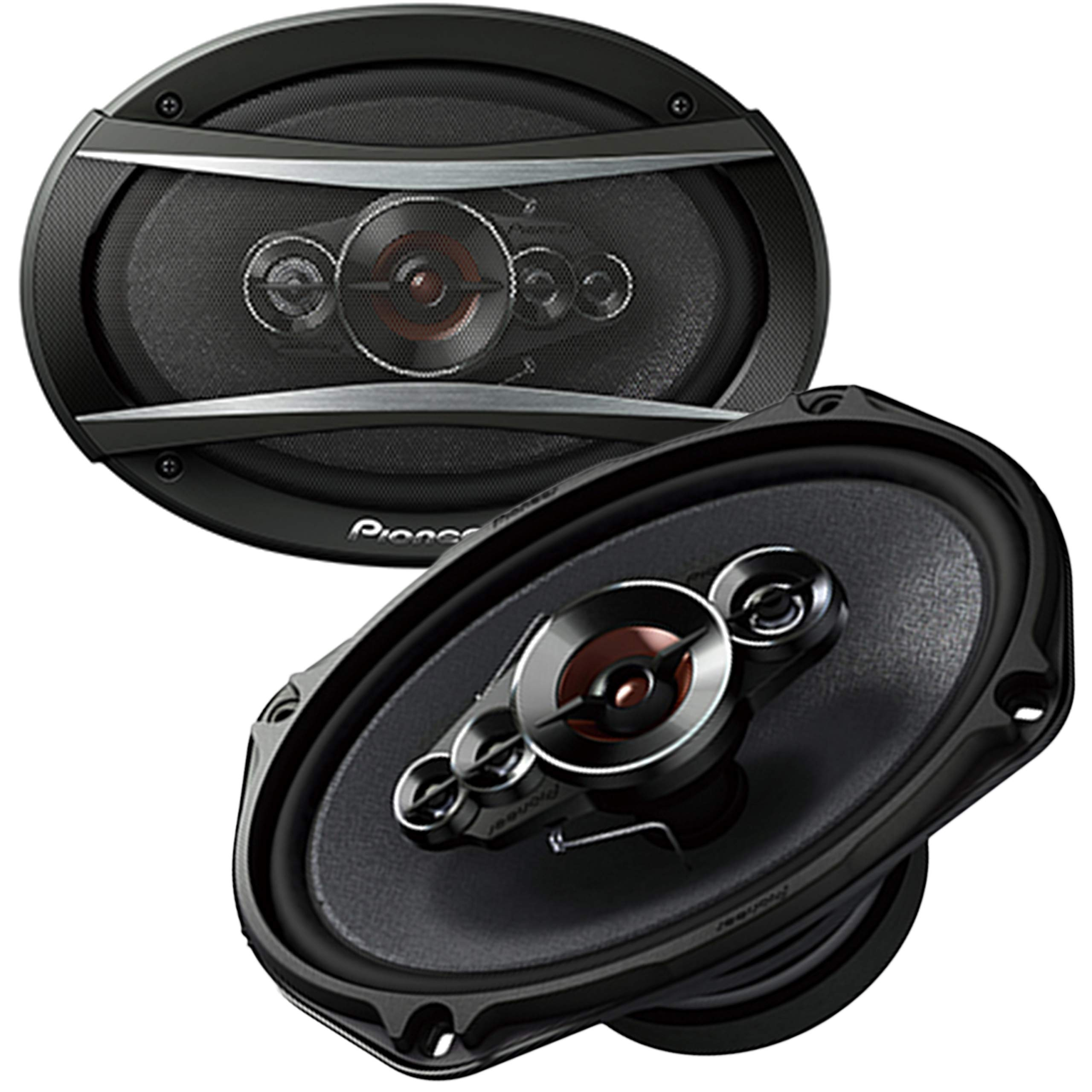 Pioneer TS-A6996S 6''x9'' Series 6 Inch X 9 Inch 650W 5-Way Coaxial Car Stereo Speakers - (2 Speakers) by PIONEER