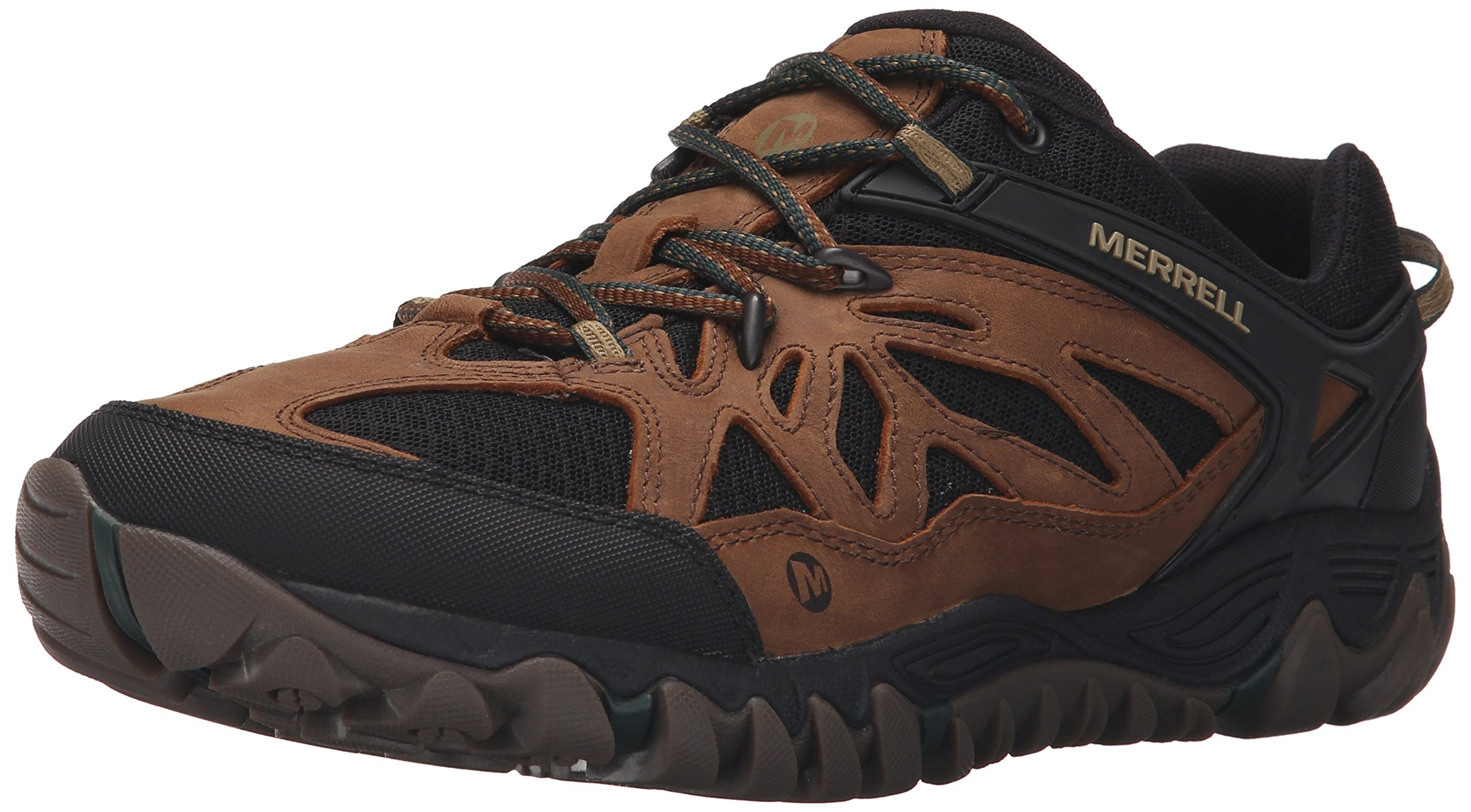 Merrell Men's All Out Blaze Vent Hiking Shoe, Tan, 9.5 M US