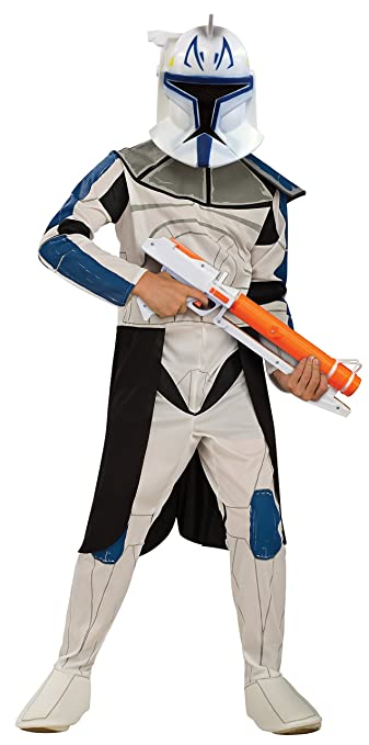 Rubies Star Wars Clone Wars Childs Captain Rex Costume, Small