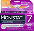Monistat 7-Day Vaginal Antifungal | Cure & Itch Relief Combination Pack | 7 Pre-filled applicators, Original Rx Cream, and Itch relief Cream