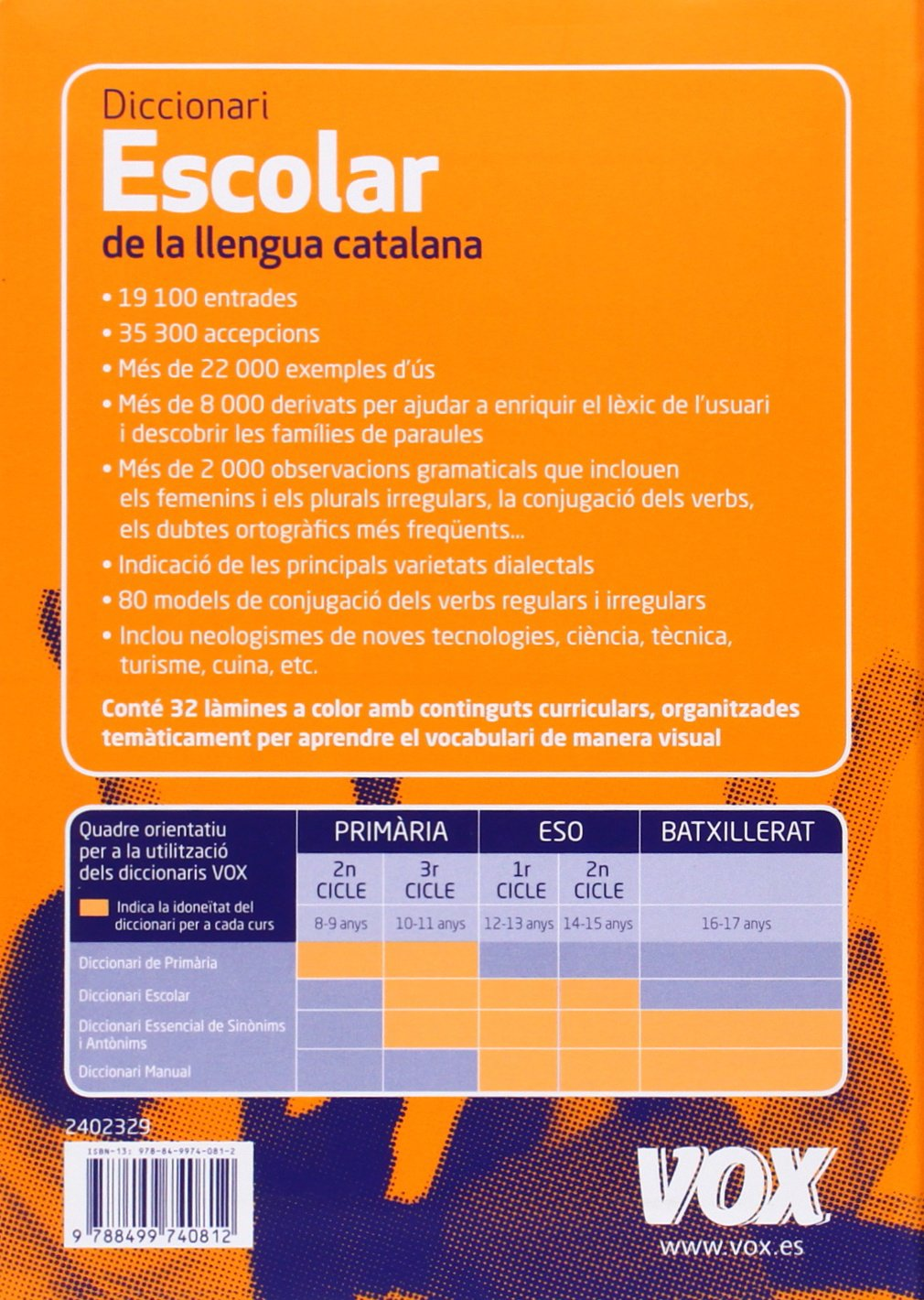 Diccionari escolar de la llengua catalana / School of Catalan Dictionary:  Amazon.co.uk: Jordi Indurain Pons: 9788499740812: Books