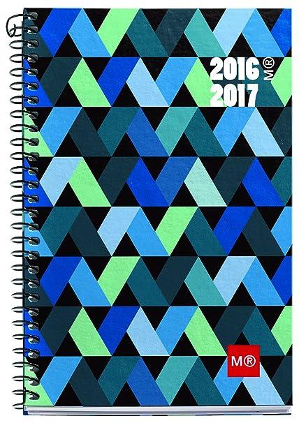 Miquelrius 27089 - Agenda escolar, 117 x 174, semana vista origami