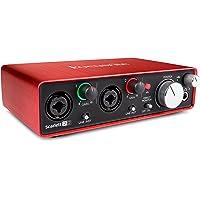 Focusrite Scarlett-2i2 Gen2 USB Audio Interface with Pro Tools First