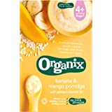 Organix Organic Banana and Mango Porridge 120 g (Pack of 5)
