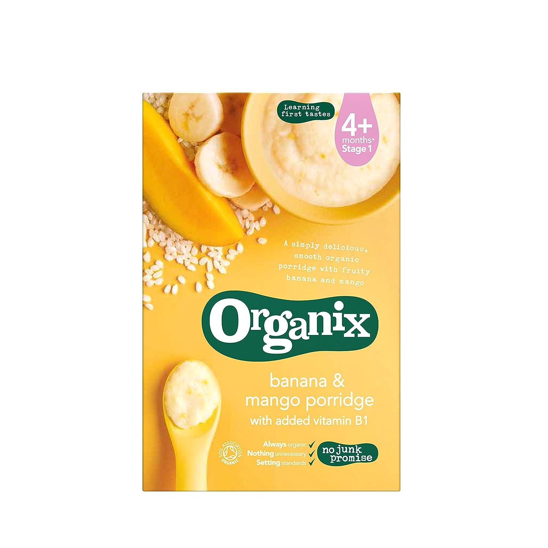 Organix Organic Banana and Mango Porridge 120 g (Pack of 5) ORGANIX (VEGETARIAN)